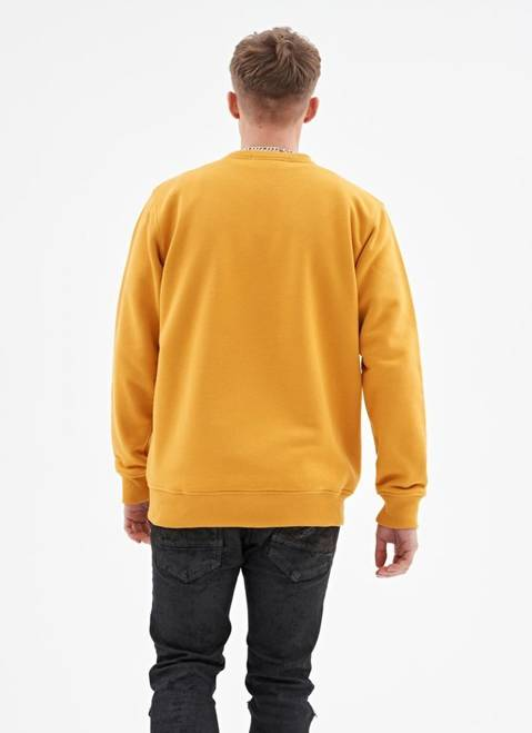 BLUZA CREWNECK LOGO ONE (HONEY)