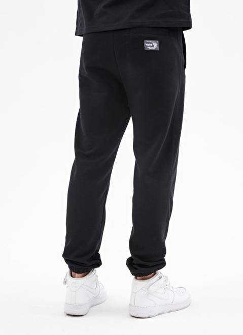 SWEATPANTS WAVE LOGO (BLACK)