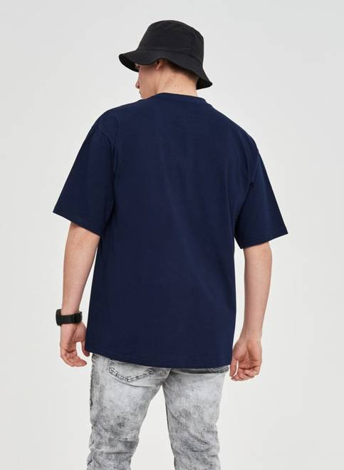 T-SHIRT PAINTED LOGO (NAVY)